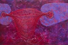 ことだま - kotodama - 1 Size  606 × 2364 Acrylic Canvas