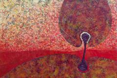 ことだま - kotodama - 15 Size  727 × 2000 Acrylic Canvas