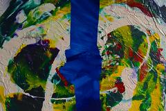 ことだま - kotodama - 27 Size  530 × 455 Acrylic Canvas