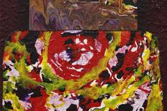 ことだま - kotodama - 31 Size  530 × 455 Acrylic Canvas