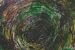 ことだま - kotodama - 32 Size  530 × 455 Acrylic Canvas