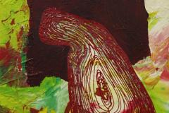 ことだま - kotodama - 34 Size  530 × 455 Acrylic Canvas