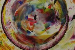 ことだま - kotodama - 35 Size  650 × 530 Acrylic Canvas