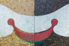 ことだま - kotodama - 13 Size  803 × 2334  Acrylic Canvas