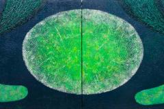 ことだま - kotodama - 14 Size  727 × 2000 Acrylic Canvas