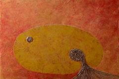 ことだま - kotodama - 4 Size  500 × 725 Acrylic Canvas