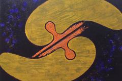 ことだま - kotodama - 21 Size  727 × 910 Acrylic Canvas