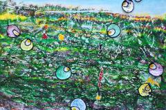 ことだま - kotodama - 24 Size  455 × 530 Acrylic Canvas