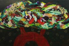 ことだま - kotodama - 28 Size  910 × 1454 Acrylic Canvas